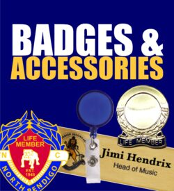 Badges & Accessories